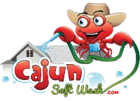 Cajun Soft Wash house roof cleaning logo