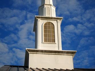 Cajun Soft Wash church exterior cleaning soft power wash exterior brick