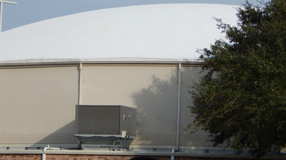 Cajun Soft Wash dome cleaning after3