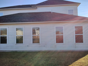 Cajun Soft Wash house Washing exterior dirt stains