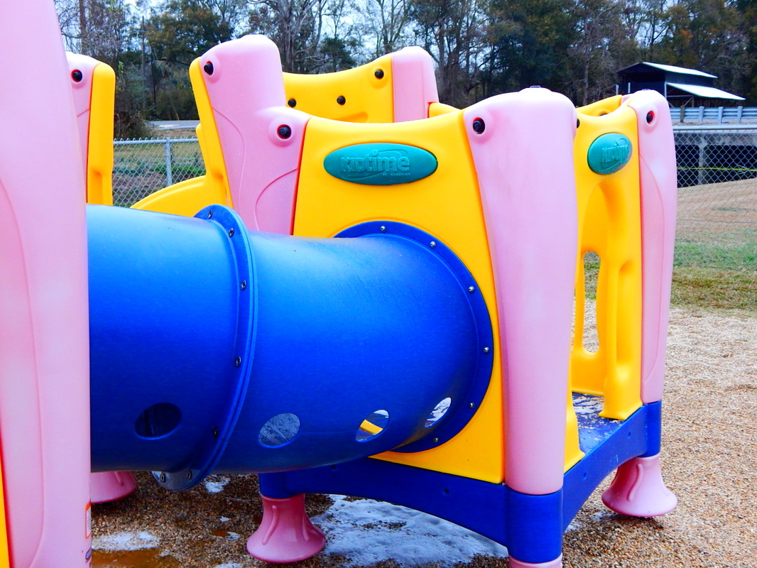 Cajun Soft Wash playground cleaning wash dirt stains dirty