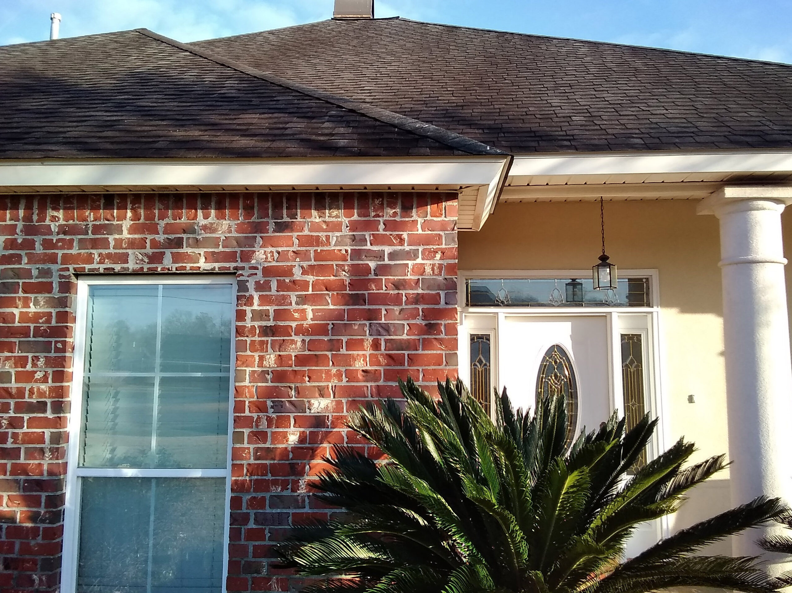 Cajun Soft Wash residential roof cleaning exterior